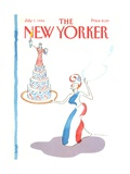 The New Yorker Cover - July 7, 1986 Giclee Print by R.O. Blechman