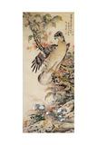 A Falcon Giclee Print by Jakuchu Ito