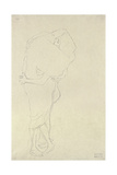 Standing Pair of Lovers Giclee Print by Gustav Klimt