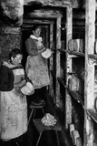 Women Working in the Cellars Close to Rochefort Photographic Print by Brothers Seeberger