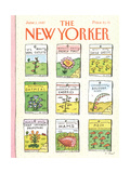 The New Yorker Cover - June 1, 1987 Regular Giclee Print by Roz Chast
