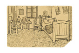 The Bedroom Giclee Print by Vincent van Gogh