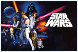 Star Wars - A new hope Julisteet