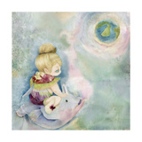 A New World Giclee Print by Meiya Y