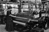 Industry, Trade Mecanqiue to Weave the Plain Fabrics Photographic Print by Brothers Seeberger