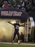 NFL Playoffs 2014: Jan 19, 2014 - 49ers vs Seahawks - Richard Sherman Photographie par Matt Slocum