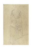 Standing Woman with Cape Giclee Print by Gustav Klimt