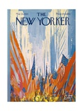 The New Yorker Cover - May 29, 1965 Premium Giclee Print by Arthur Getz