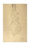 Standing Dancer in Profile Giclee Print by Gustav Klimt