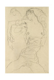 Female Nude with Bent Arm Giclee Print by Gustav Klimt