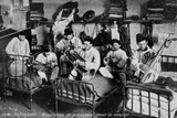 Infantry Musicians Preparing with a Concert Photographic Print by Brothers Seeberger