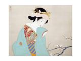 Shoen Uemura - Fragrance of Spring Digitálně vytištěná reprodukce
