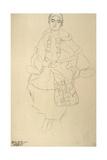 Sitting Woman Giclee Print by Gustav Klimt