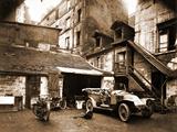 Cour, 7 Rue de Valence 1922 Photographic Print by Eugène Atget