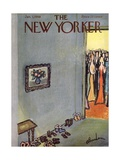 The New Yorker Cover - January 3, 1959 Giclee Print by Abe Birnbaum