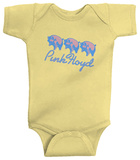 Infant: Pink Floyd - 3 Pigs Creeper Grenouillère bébé