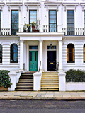 Apartment Number 49 and 51, Notting Hill in London Photographic Print by Anna Siena