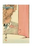 Guardian God, Ni-o Giclee Print by Kyosai Kawanabe