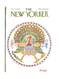 The New Yorker Cover - November 24, 1962 Giclee Print by Anatol Kovarsky