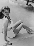 Rita Hayworth, 1945 Photographic Print