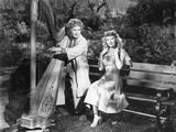 Harpo Marx, Vera-Ellen, Love Happy, 1949 Photographic Print