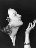 Carole Lombard Fotografisk trykk
