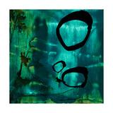 Turquoise Element IV Kunstdrucke von Sisa Jasper