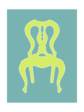 Small Graphic Chair II Premium Giclee Print by Chariklia Zarris