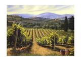 Tuscany Vines Poster von Michael Swanson