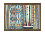 Indian Carpet Design Art by J.B. Waring