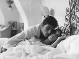 Alain Delon, Marie Laforet, Purple Noon, 1960 (Plein Soleil) Fotografie-Druck