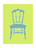 Small Graphic Chair III Poster by Chariklia Zarris