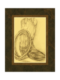 Sepia Boots II Premium Giclee Print