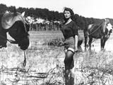 Silvana Mangano, Bitter Rice, 1949 (Riso Amaro) Fotografie-Druck