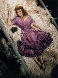 Rita Hayworth, The Loves of Carmen, 1948 Fotografická reprodukce