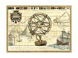 Nautical Map I Sztuka autor Deborah Bookman