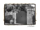 Old Bermuda Gate I Premium Giclee Print by Laura Denardo