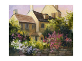Cotswold Cottage V Posters af Mary Jean Weber