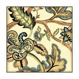 Small Jacobean Tile II Plakater av Chariklia Zarris
