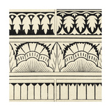 Ornamental Tile Motif VII Print by  Vision Studio