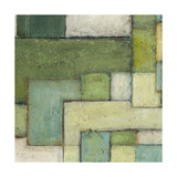 Green Space III Prints by Beverly Crawford