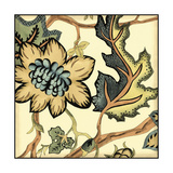 Small Jacobean Tile III Prints by Chariklia Zarris