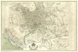 Landmarks of Rome Plakater af Felix Benoist