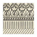 Ornamental Tile Motif V Premium Giclee Print by  Vision Studio