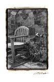 Garden Respite II Giclee Print by Laura Denardo