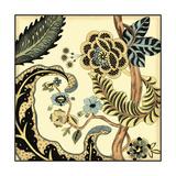 Small Jacobean Tile I Kunst av Chariklia Zarris