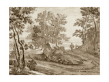 Italian Pastoral I Prints by Jean Both