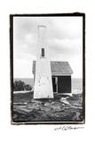 Bell House at Pemaquid Point Prints by Laura Denardo