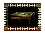 Let's Play Billiards I Posters