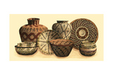 Hand Woven Baskets VI Prints by  Vision Studio